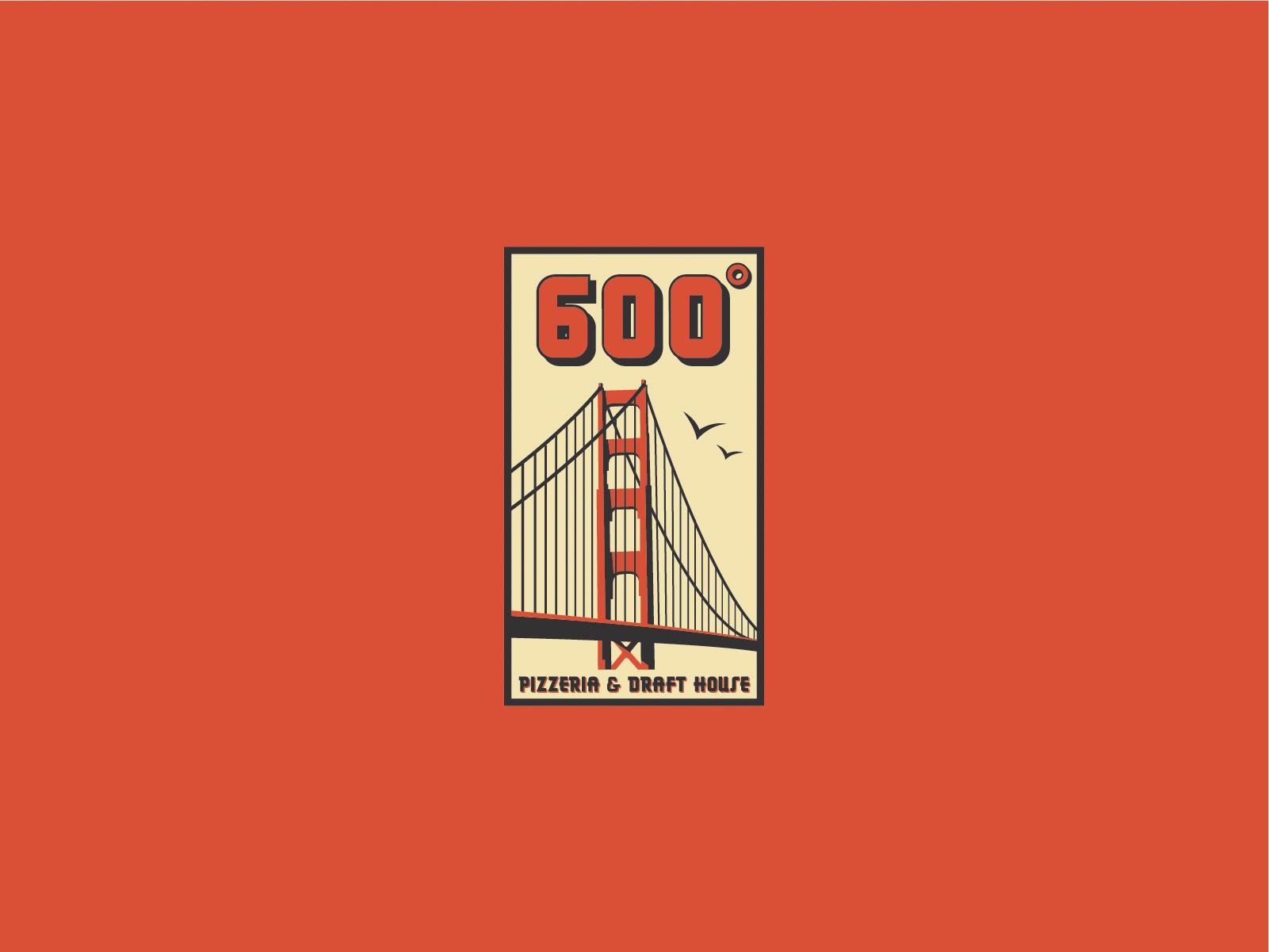 600 degrees logo redesign
