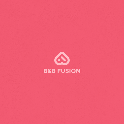 Design a logo similar to airbnb with fusion concept