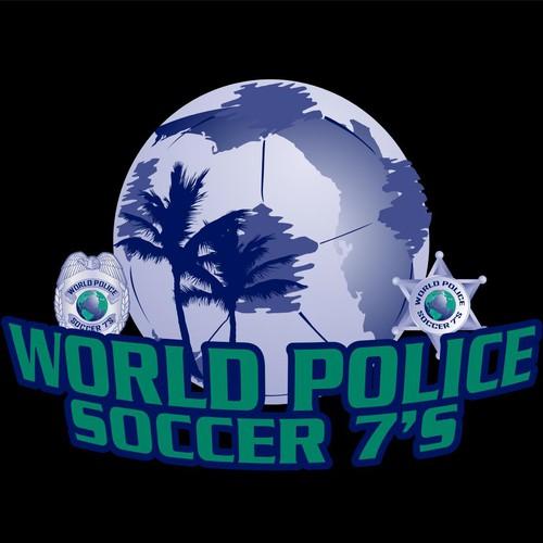 World Police Soccer Tournament Logo