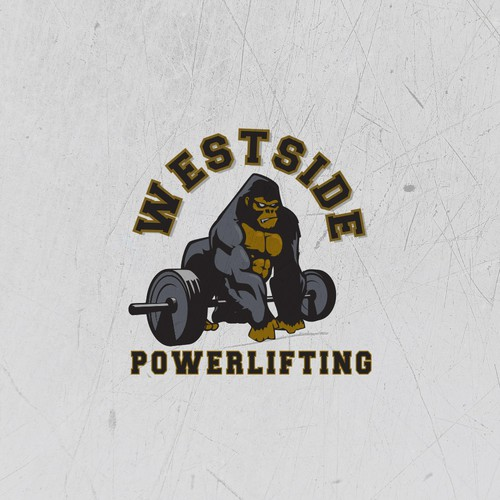 Logo Concept for PowerLifting Gym