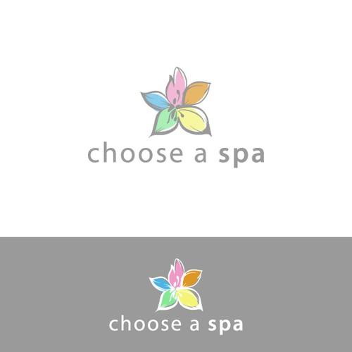 Soft spa logo concept