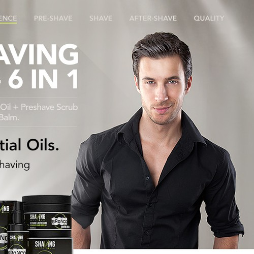 natural shaving cosmetic