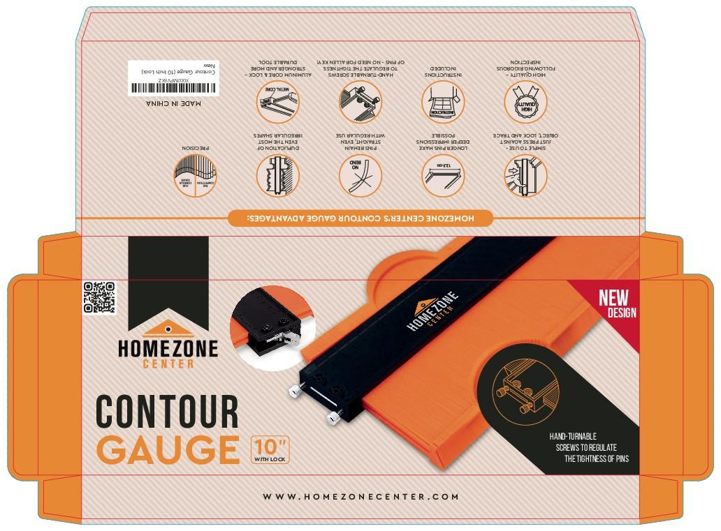 Homezone Center - Contour Gauge Box Design