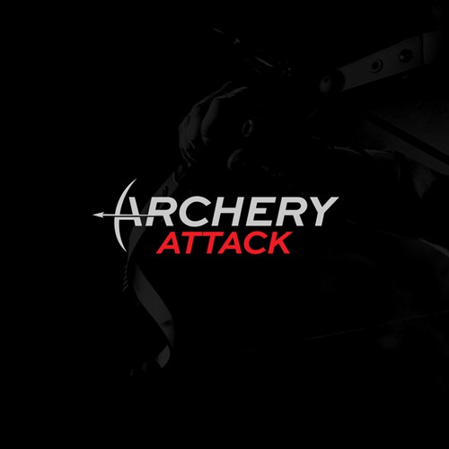 Logo concept for an archery store and web shop Arechery Attack