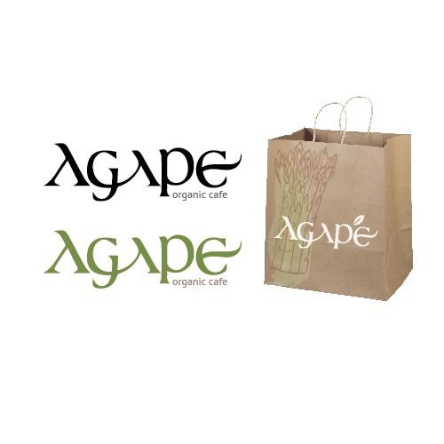 Agape Organic Cafe needs a new logo