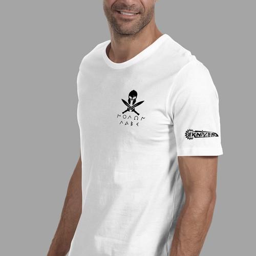eknives tshirt design