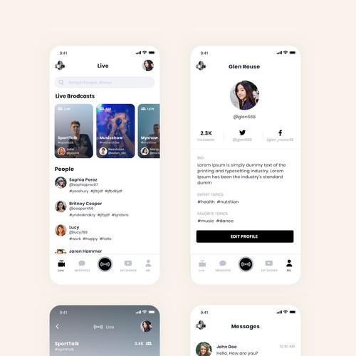 App UI/UX