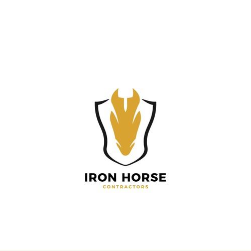 Logo concept for IRON HORSE