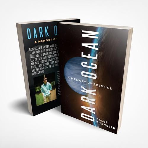 Cover design for sci fi novel