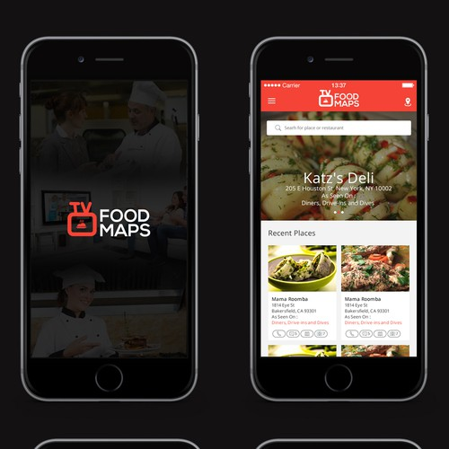 Create New Mobile App Experience for TVFoodmaps