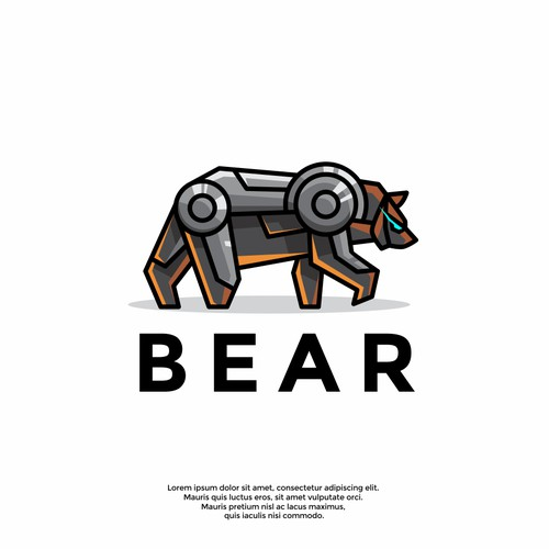 cool bear logo
