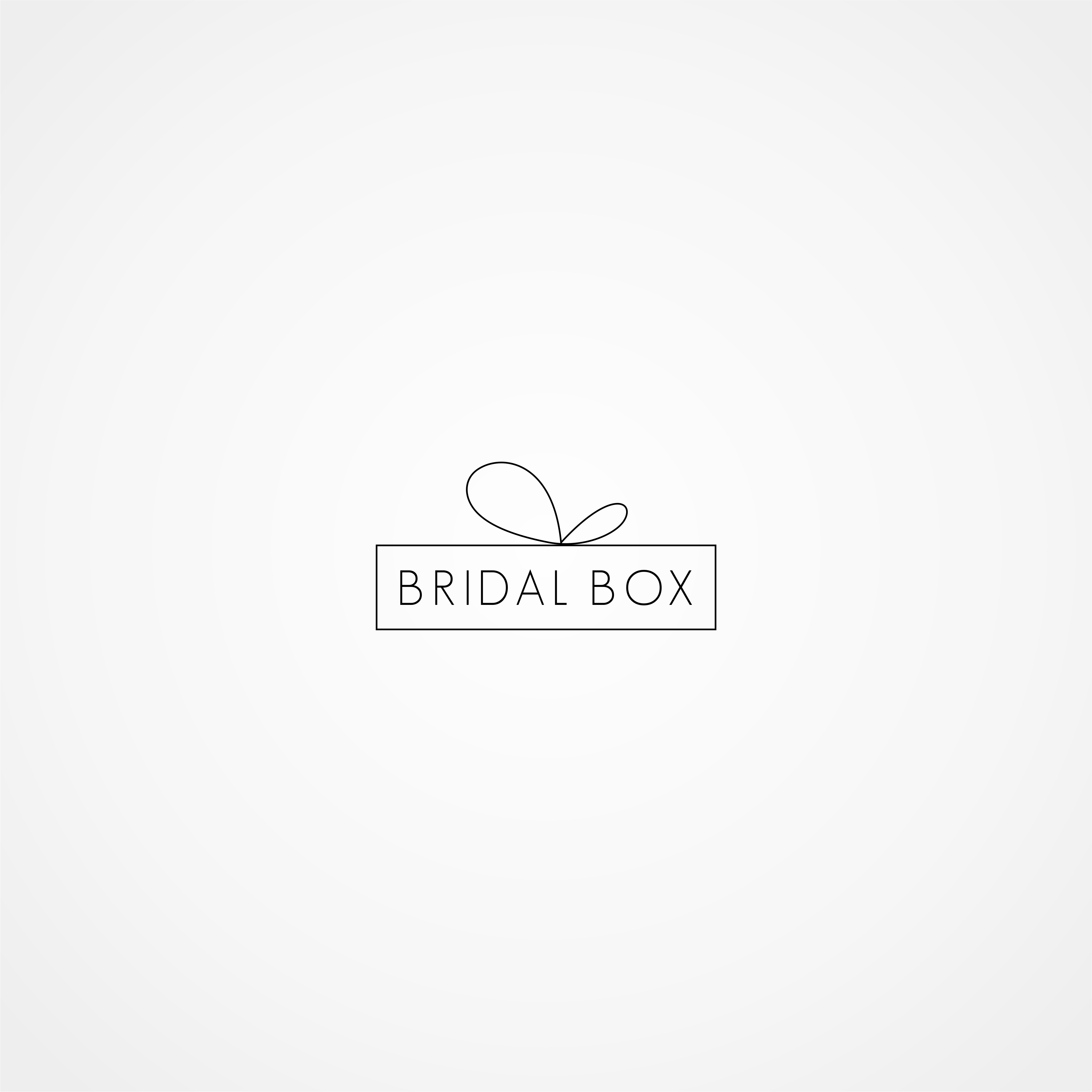 Create a chic logo for a wedding business geared towards the bridesmaids