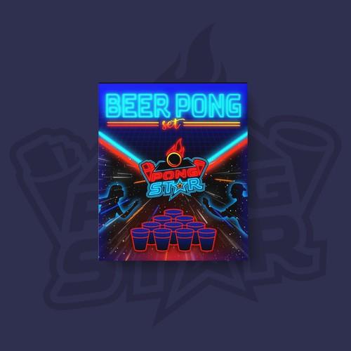 Beer pong packaging