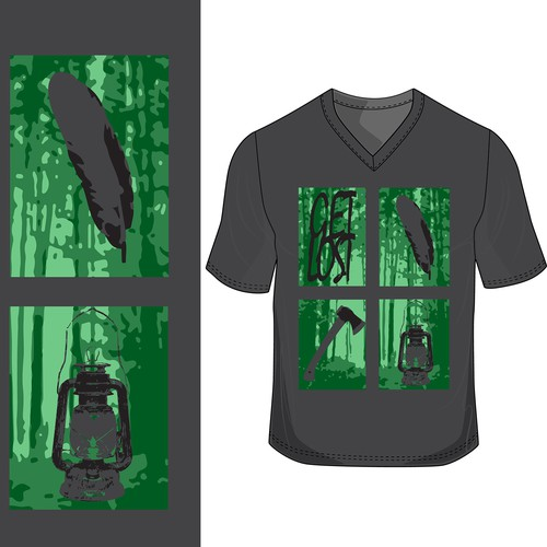 Outdoor vibe shirt contest