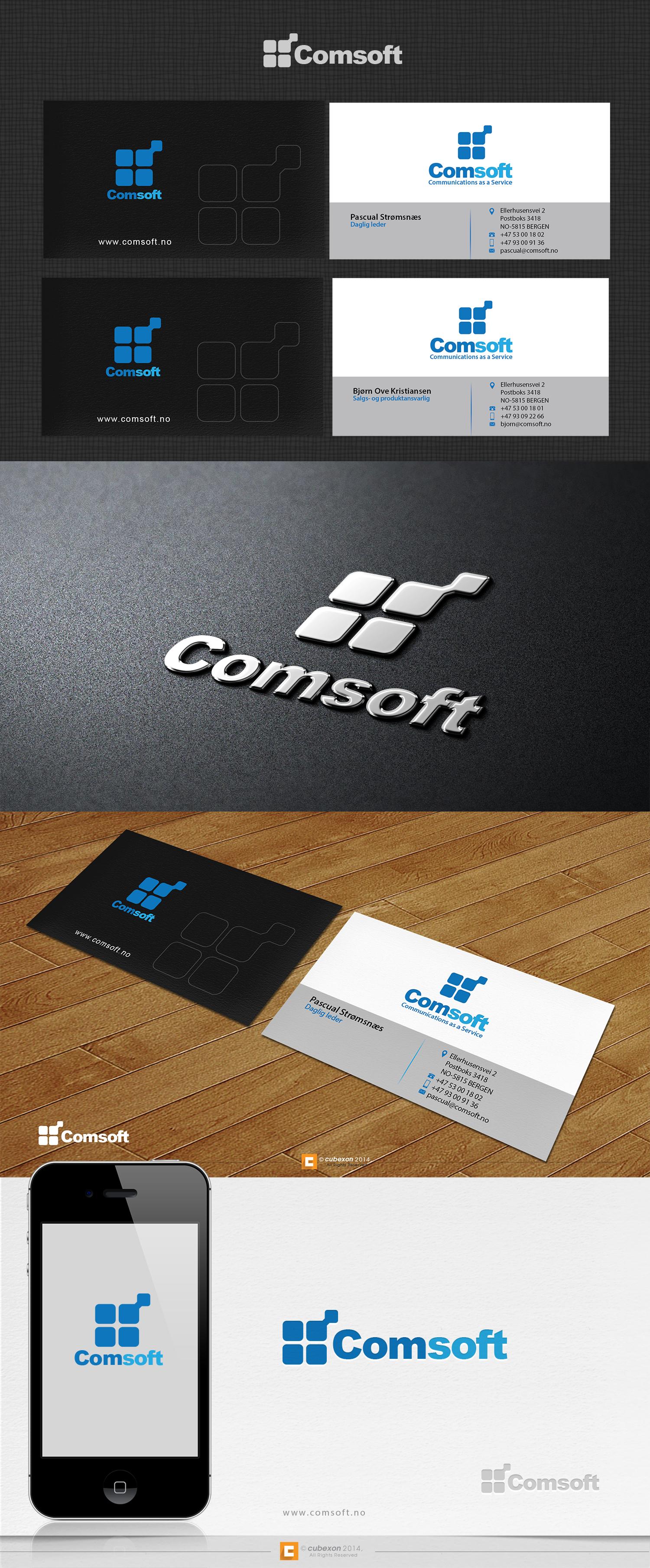 [guaranteed] Logo/Business card design for Comsoft