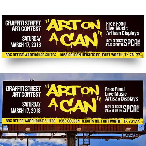 Street Art Festival - Billboard Design