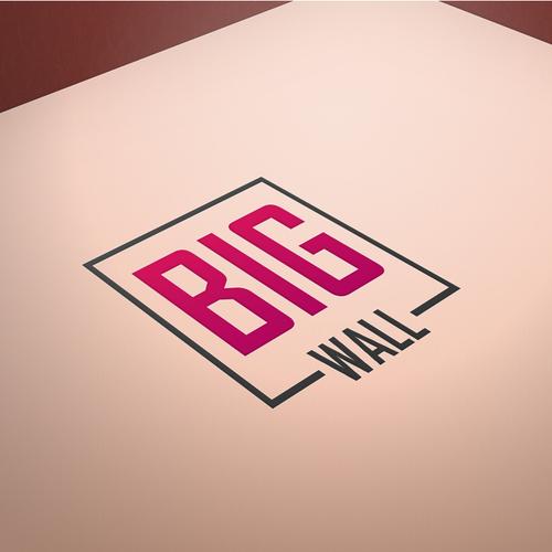 BIG WALL  - Logo Design