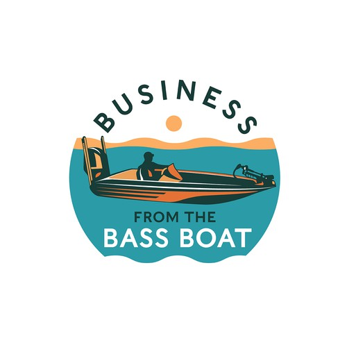 "Logo for ""Business from the Bass Boat"""