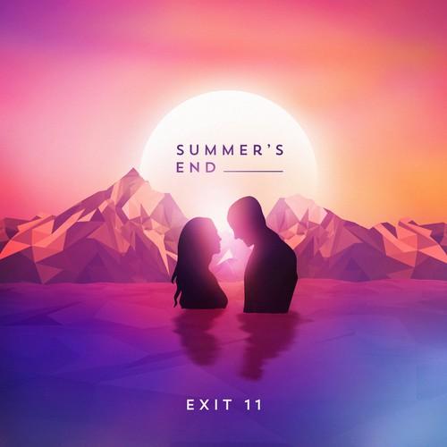 Album Illustration for Summer's End