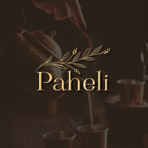 Logo for 'Paheli' - Indian Cuisine - Fine Dining Experience.