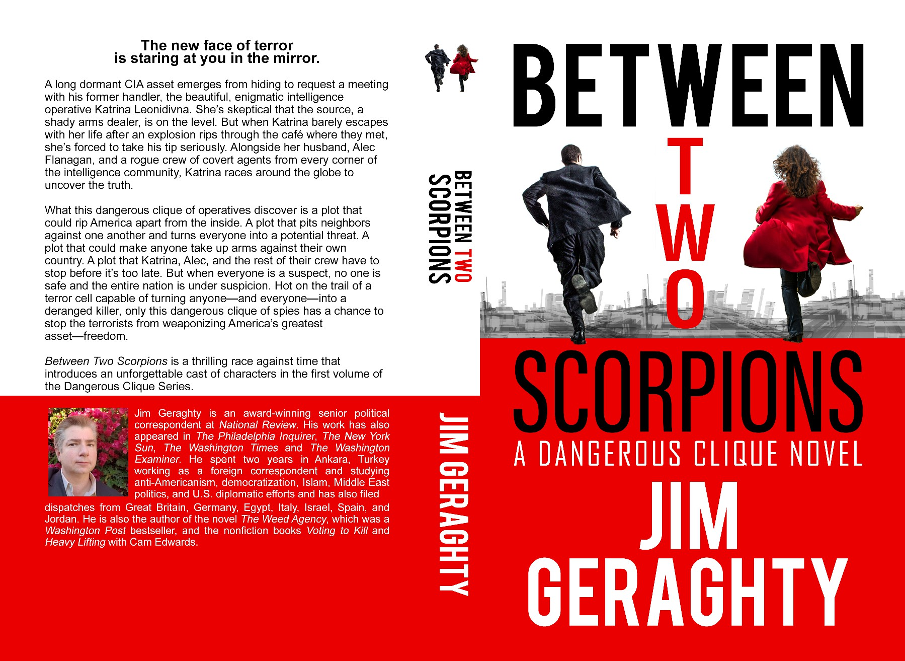 Pulse Pounding Thriller Novel by Acclaimed Journalist