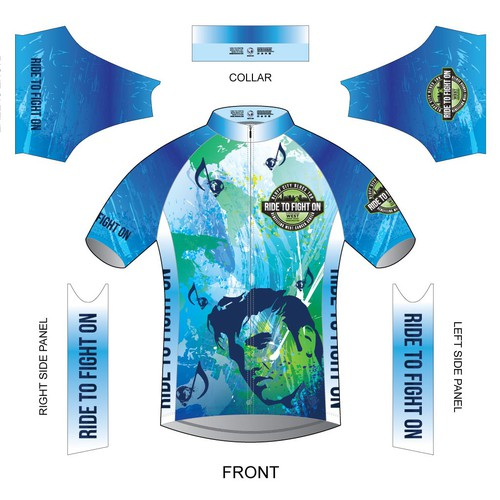 Cycling Jersey for Cancer Event