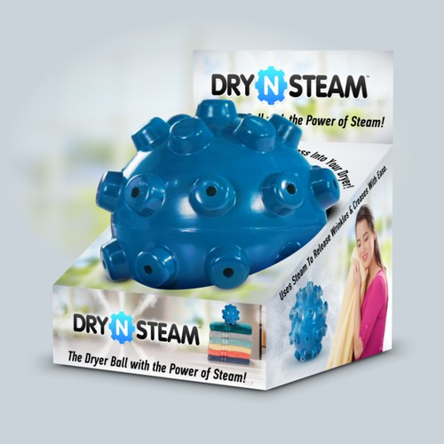 Dry-n-steam Retail Packaging