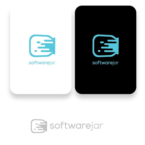 modern logo for software business