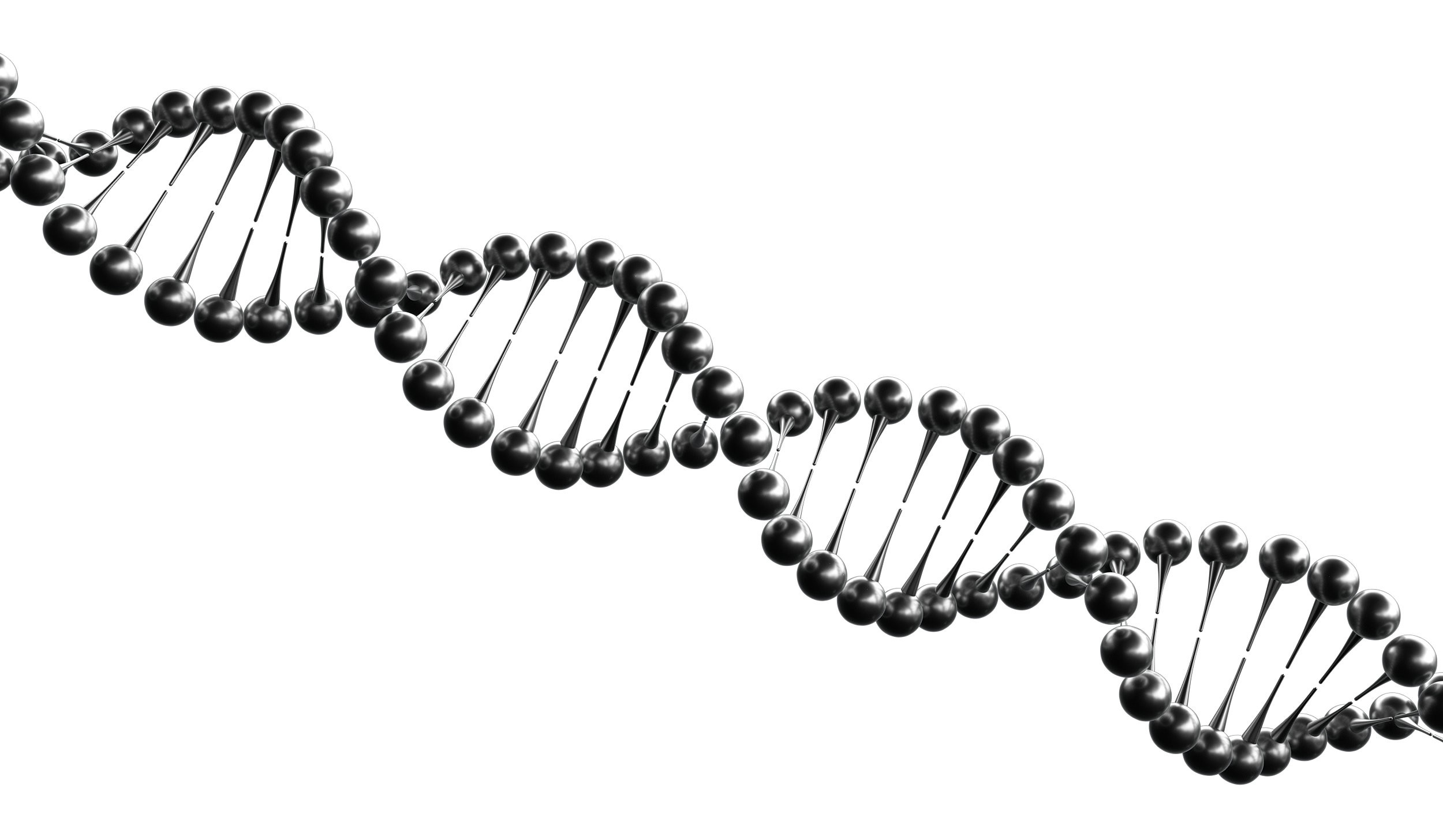 Fun, Creative Double Helix DNA Graphic