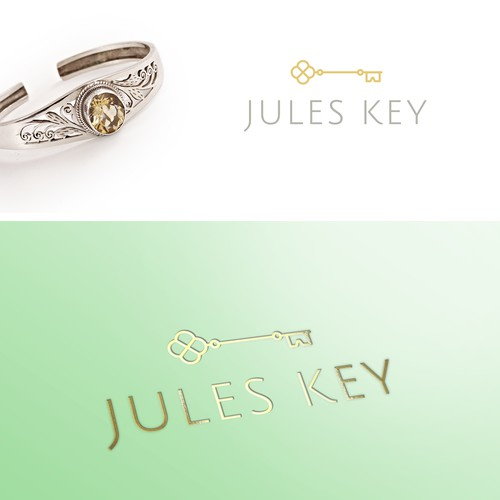 A logo as pretty as the jewelry it adorns