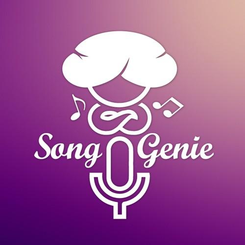 logo concept for a music app