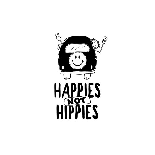 Happies not hippies