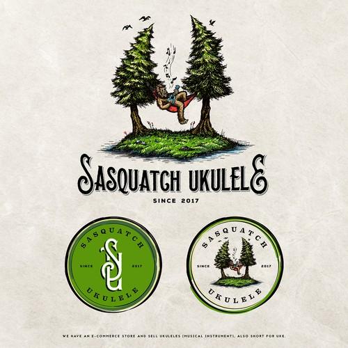 Sasquatch Ukulele