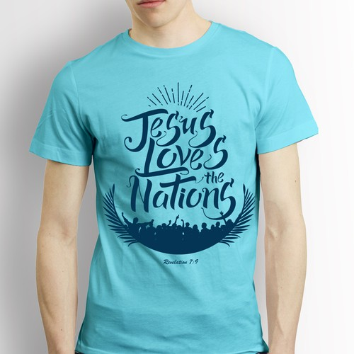 Jesus Loves Tshirt