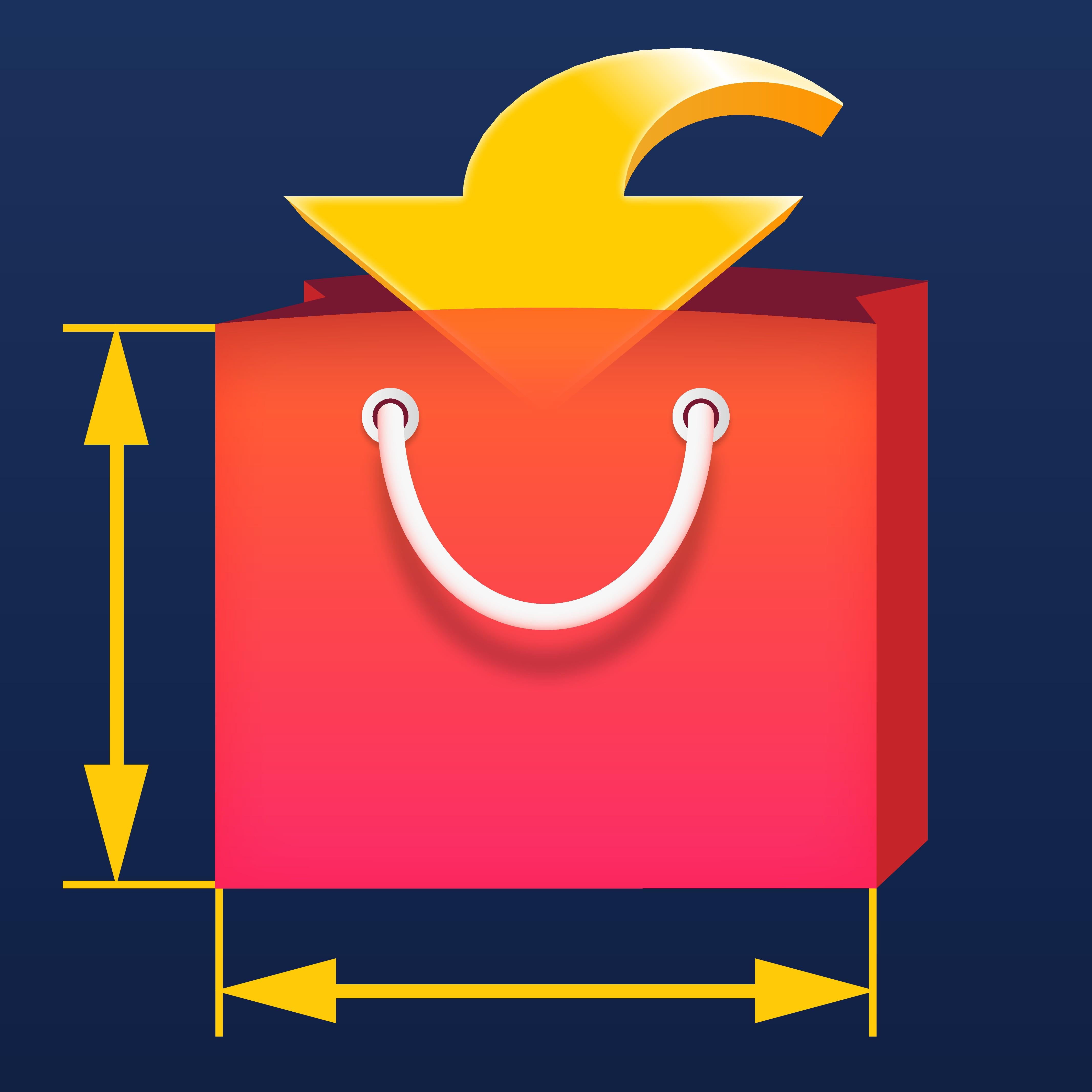 Create an App Icon for BagSure App