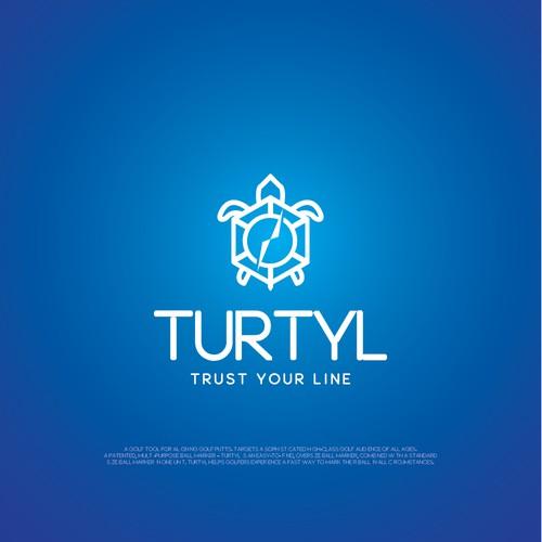 Clean Logo Design for Turtyl