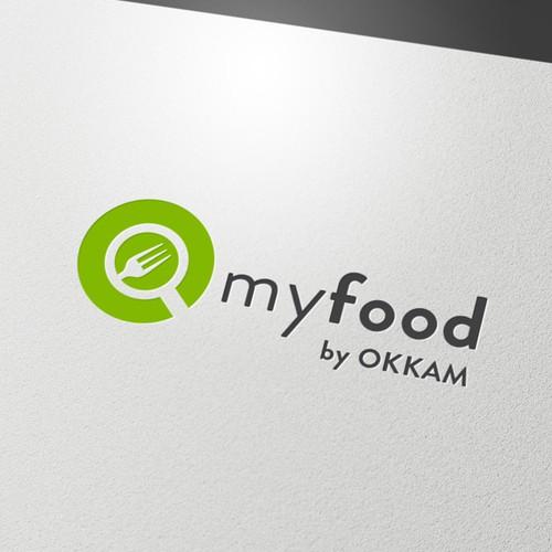 Abstract flat logo design