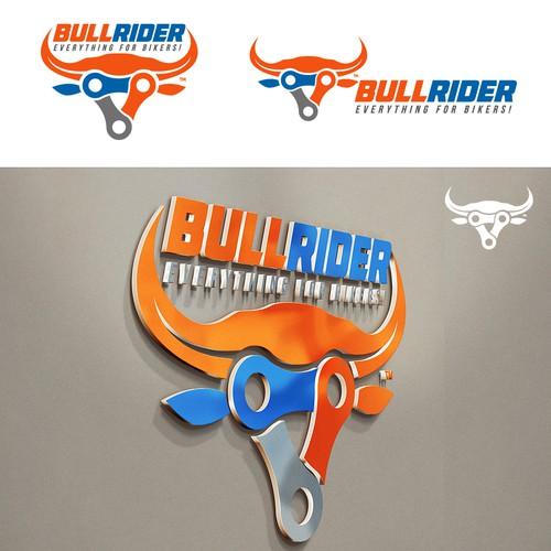 Logo para Bull Rider (bikes)
