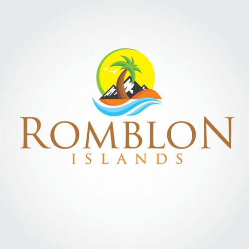 Create a tourism logo for a beautiful, undiscovered region of the Philippines