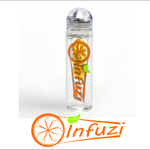 Fruit Infuser Water Bottle - The Healthy way to drink Flavoured Water