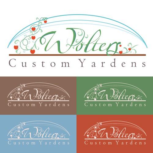 Wolters' Custom Yardens Urban Farming Logo