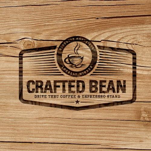 Cafe logo branding