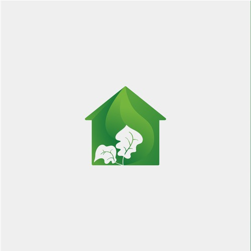 Colorful and Energetic Home Nature Logo