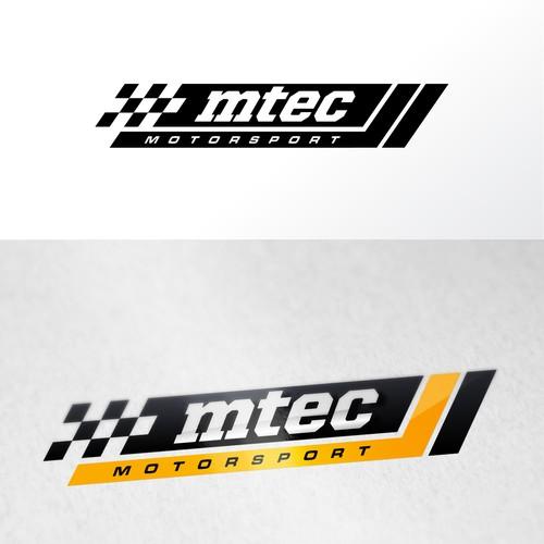 motorsport team logo and branding.