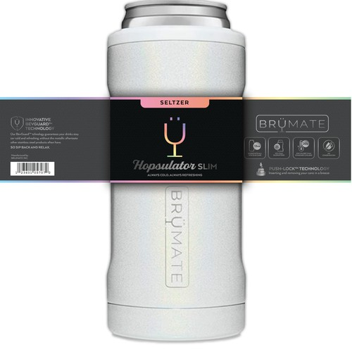 Label Wrap for Drinkware Brand