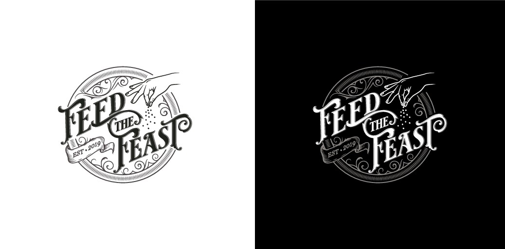 Design a Tattoo-inspired Logo for a New Food Blog