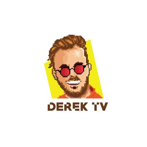 Pixel Art logo For a YouTuber