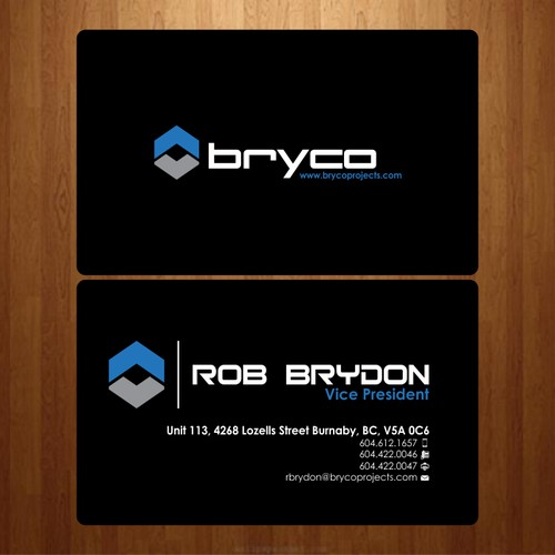 Bryco Business Cards