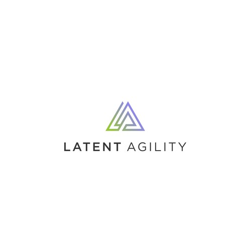 Clean and Simple Logo for Latent Agility