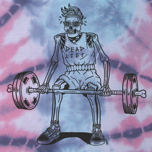 Dope BackboneSupply.Co tie-dye T-shirt design
